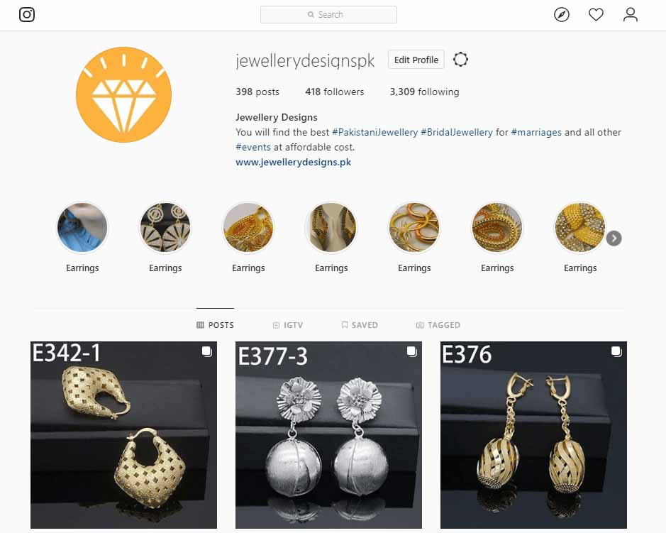 7 Ways To Select The Best Online Jewellery Seller in 2020 JD-instagram