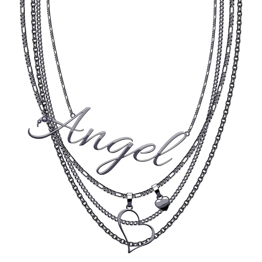 Engraved Necklace - Looks Beautiful