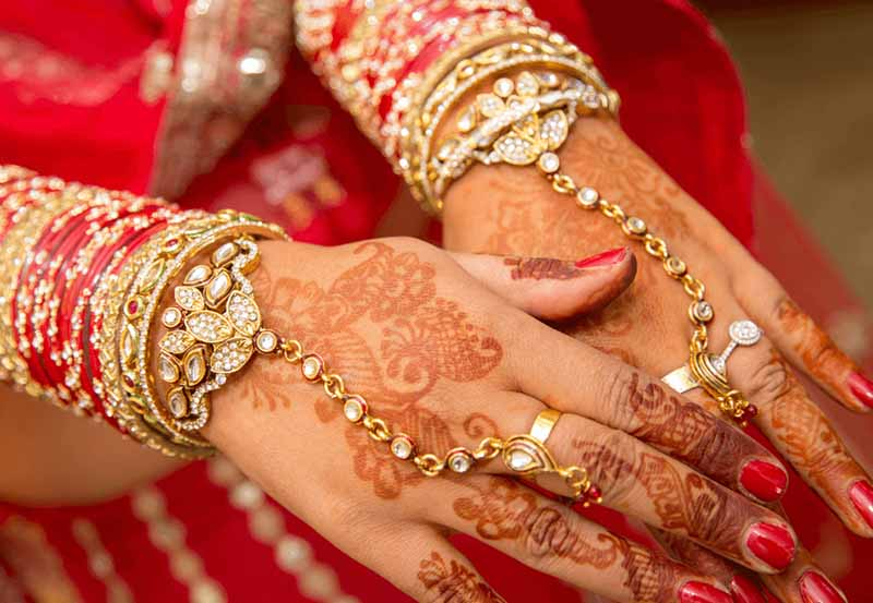 Ring Bracelet or Panjangla - bridal accessory list