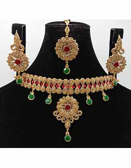 Bridal Artificial Jewellery Set