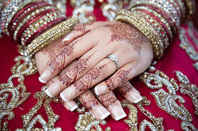 artificial bridal bangles